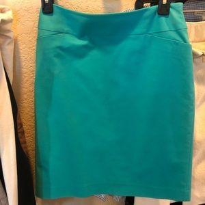 Halogen (Nordstrom) turquoise pencil skirt size 2